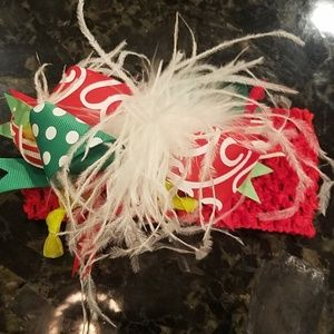 Other - Fun baby Christmas headband for baby -2 yrs